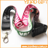 Custom Logo Polyester Lanyard with Metal Hook (YB-LY-13)