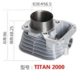 Motorcycle Accessory Motorcycle Cylinder Titan2000