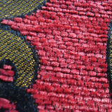 100% Polyester Chenille Fabric Jacquard Yarn Dyed