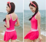 Woman Swimwear & Beachwear Red Dress