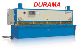 Durama Steel Sheet Metal Cutting, Plate Cutting Machine, Hydraulic Guillotine Shearing Machine