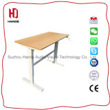 Manual Office Home Use Height-Ajustable Desk