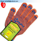 Light Duty Firm Grip PVC Dotted Cotton Gloves for Industrial Use