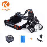 10W Xml T6 Bulb Rechargeable Aluminium Headlamp Bicycle Light Headlight