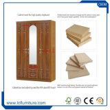 15mm MDF Board Melamine Wardrobe Armoire Chest Good Quality