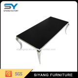 Stainless Steel Glass Coffee Table Furniture