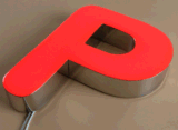 Custom 3D Logo Outdoor Waterproof Advertising Signs LED Acrylic Light Channel Letters