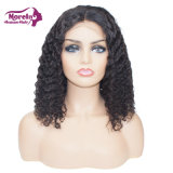 12A Wholesale Swiss Lace Front Wigs Water Wave Bob Human Hair Wig