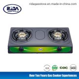 Cheap Model Cold Sheet Double Burner Gas Cooker
