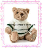Hot Sell Knitted Plush Bear with Sweater