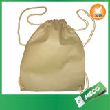 Customized Nonw Oven Polypropylene Drawstring Backpacks (MECO170)