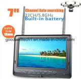 7 Inch 5.8GHz LCD Diversity Receiver with Battery