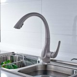 Pull out Kitchen Faucets Deck Mounted Single Handle Hole