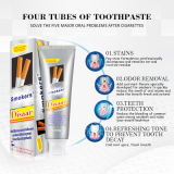 OEM Disaar White&White Toothpaste Dental Daily Use Whitening Teeth Remove Smokers Stains Fights Plaque &Decay Strengthen Teeth