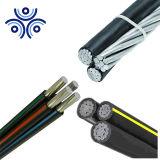 0.6/1kv Power Aluminum Conductor XLPE Insulated Overhead Aerial Bundle Cable, Douplex/Triple/Quadruplex Service Drop/Urd/ABC Cable