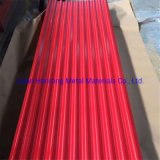 PE Coated Oiled Surface Tct 0.55mm Thick Corrugated Roofing Sheet Price