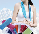 Maycy Cheap Sports Towel, Colorful and Soft Ice Towel, Microfiber Hand Towel with Bottle