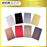4 mm/ 0.3 mm OEM & ODM Brushed Grade A2 Fireproof Facade ACP Construction Wall Material