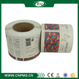 Custom Adhesive Private Label Sticker Printing