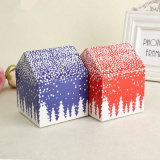 Best Price Custom Mini Unique Paper Christmas House Gift Box