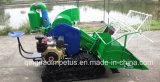 China Qingdao Impetus Supply 4lz-0.8 Crawler Grain Combine Harvester