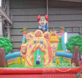 Jungle Boonie Bears Inflatable Slide