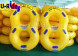 "42""strong double outside seam 2 person Inflatable Swimming Tube for Water Park"