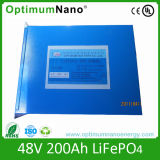 48V 200ah LiFePO4 Battery Pack for Solar Power System