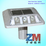 Aluminum Alloy Solar Road Stud / Flashing Road Marker with Stem