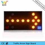 Road Safety 100mm LED Lamps Truck Mounted LED Arrow Board