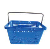 One Handle Shopping Store Basket
