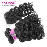 Italian Curly Peruvian Hair Bundles with Closure