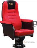 China Red Amphitheater Seating, High Density Foam Stuffed Fabric Cinema Movie Chair