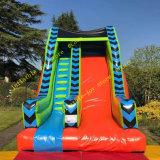Car Track Theme Giant Inflatable Slide Dry Slide Commercial Inflatable Slide for Kids