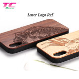 Wholesale Phone Case Compatible with iPhone 8 7 6/6s Wood Phone Cases Engraved Unique Pattern