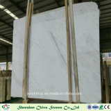White Volakas Marble Slabs for Tiles/Countertops