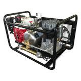 Honda Gasoline Engine Oil-Free Hookah Compressure for Divng Breathe with 10L Tank