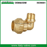 Good Price Brass Reducing Elbow Male Pipe Fitting for Spanish Style
