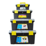 Plastic Truck Tool Boxes, Camping Tool Box, Hard Plastic Storage Box