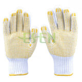 Factory Direc Sales Custom Ansell Edge Palm PVC Coated Work Gloves, Cheap Work Gloves