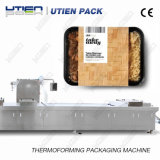 Fast Food Thermoforming Rigid Film Map Packaging Machine