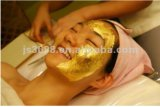 Pure Gold Leaf Facial Mask 4.33cm for Skincare Anti-Aging Anti-Wrinkling Whiting Moisturizing