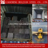S235jr HDG Galvanized Steel Profiles Hollow Section Rhs Shs Rectangular Square Steel Tube Price