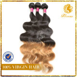 T Tone Color Hair Body Wave Virgin Remy Human Hair