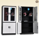 Lockable Storage Cabinets for Office and Home with Swing Door