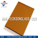4-6mm Golden Bronze Float Glass with CE Certificate