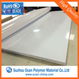Wholesale Price 0.8mm Glossy White Rigid Plastic PVC Sheet for Thermoforming