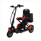 Handiness 300W 36V 10ah Removeable Lithium Battery Electric Tricycle Moped Three Wheel Mobility Scooter Foldable Electric Mobility Scooter