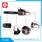 52cc 5202 Quality Guarantee Professional Manufacture Supply Gas Chainsaw with Electric Start