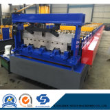High Quality Low Cost Automatic Floor Decking Tile Panel Cutting Roll Forming Machine Manufacturer